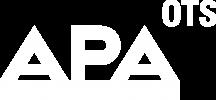 Logo Austrian Press Agency OTS (white)