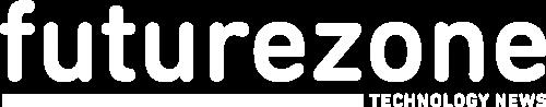 Logo Futurezone white