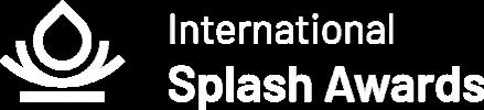 Logo International Splash Awards (white)