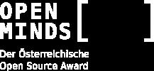 Logo Open Minds Award (white)
