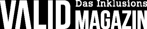 Logo Valid - Das Inclusions Magazin (white)