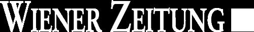 Logo Wiener Zeitung (white)