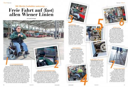 Scan Artikel aus Wien Mobil-2014 Freie Fahrt auf (fast) allen Wiener Linien