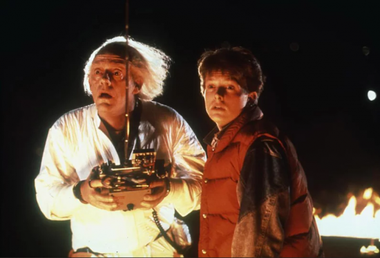 screenshot of back to the future film